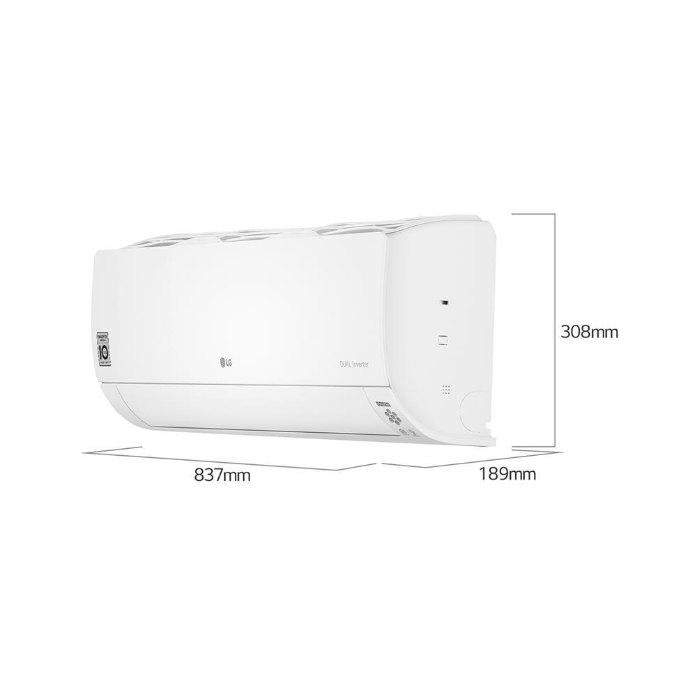 LG Klimatska naprava Standard S12EQ z montažo