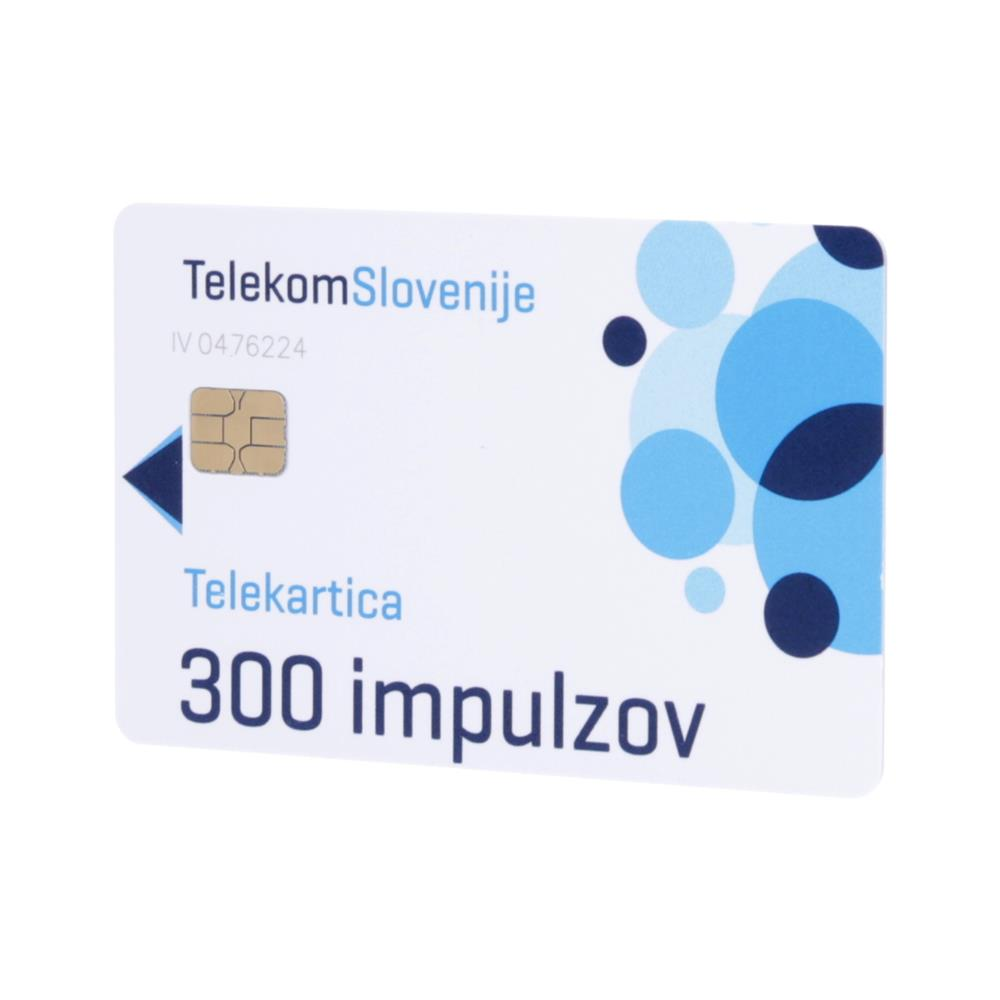Telekom Slovenije Telekartica 300 impulzov
