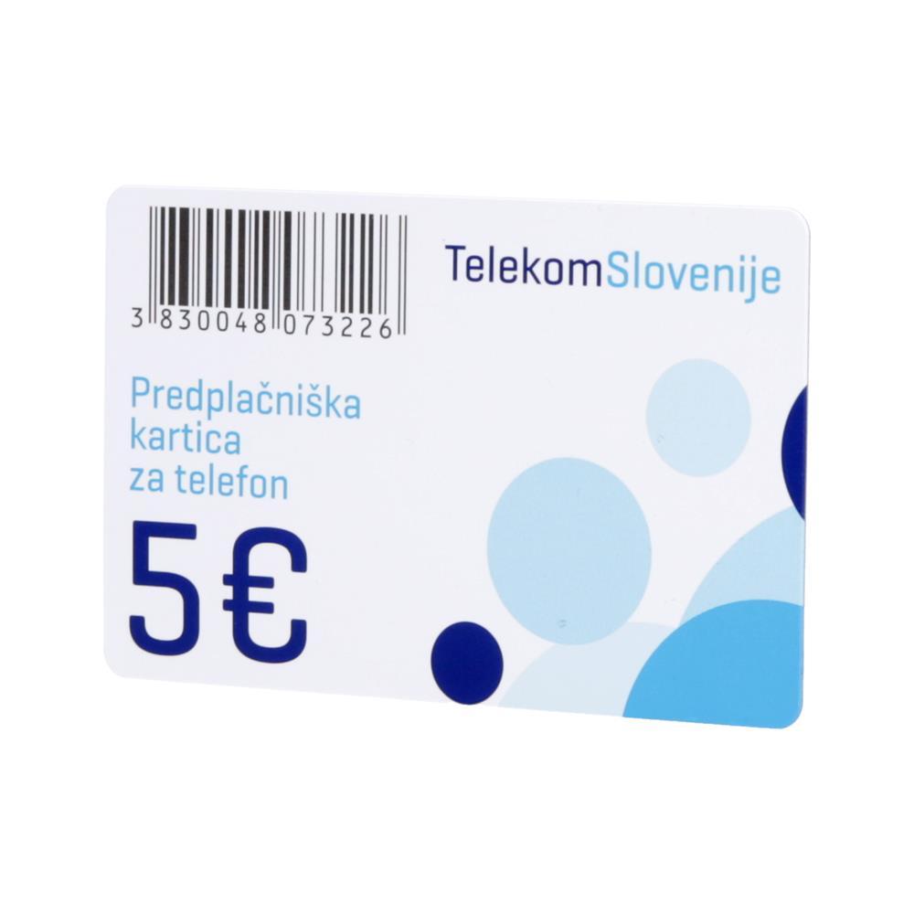 Telekom Slovenije IP telekartica 5 EUR