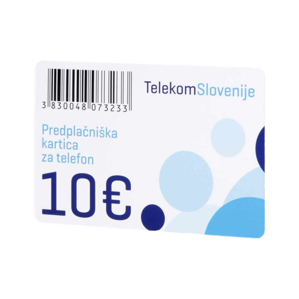 Telekom Slovenije IP telekartica 10 EUR