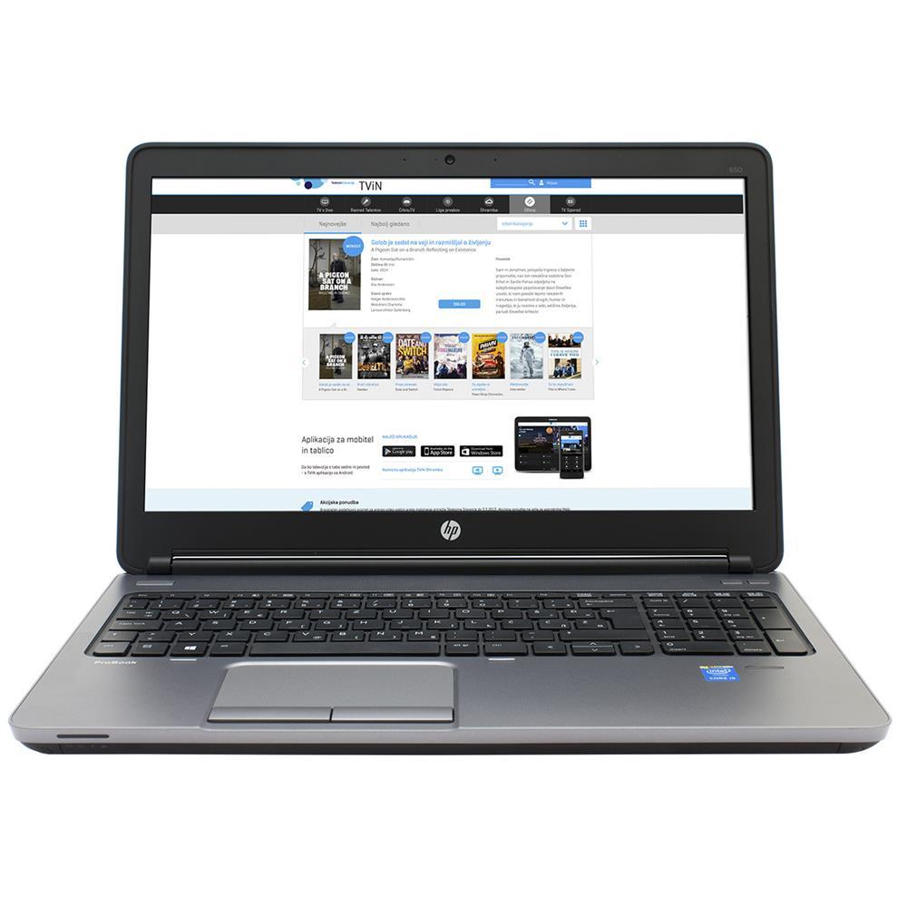 HP ProBook 650 i5/4/500/FHD Win7pro