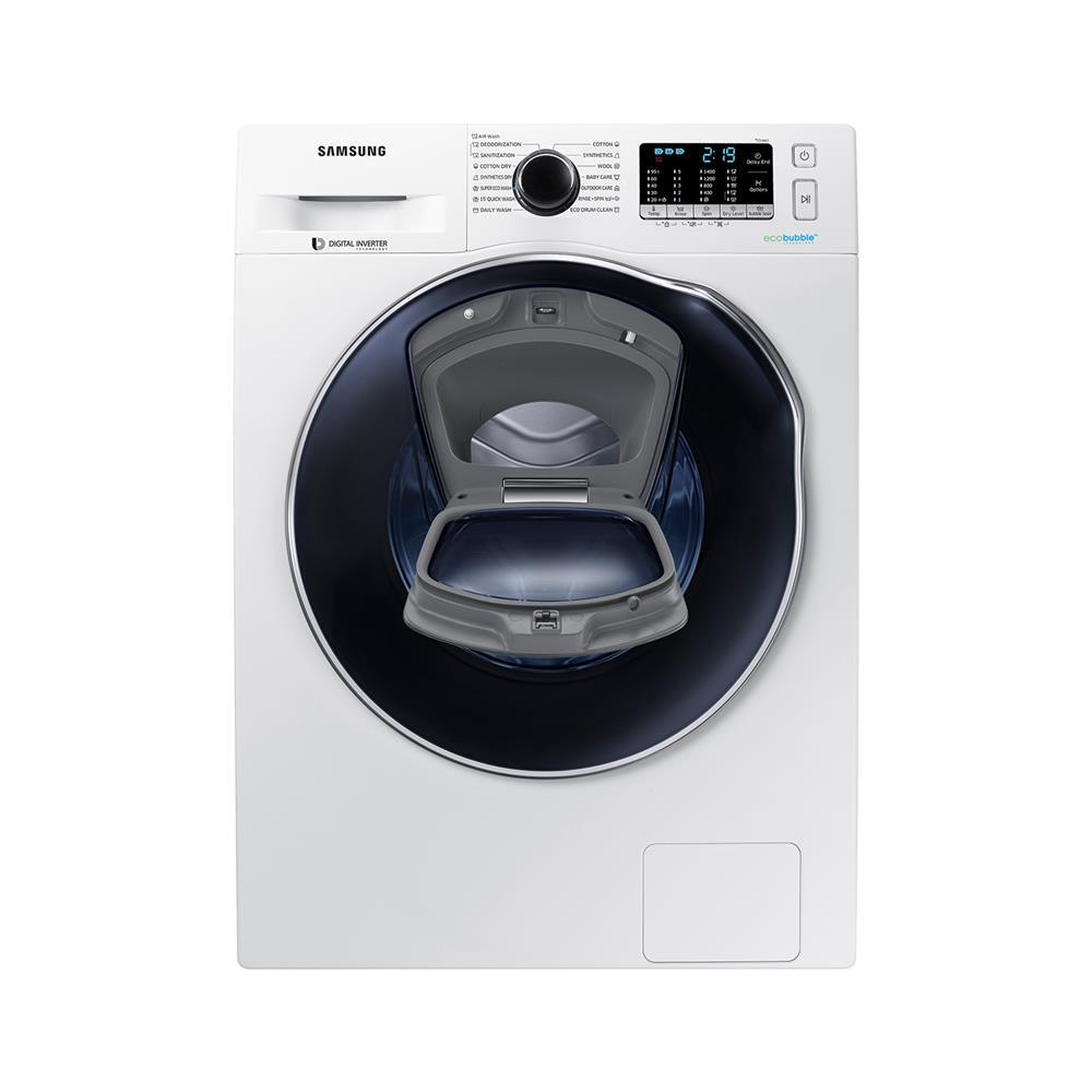 Samsung Pralno-sušilni stroj WD80K5A10OW/LE