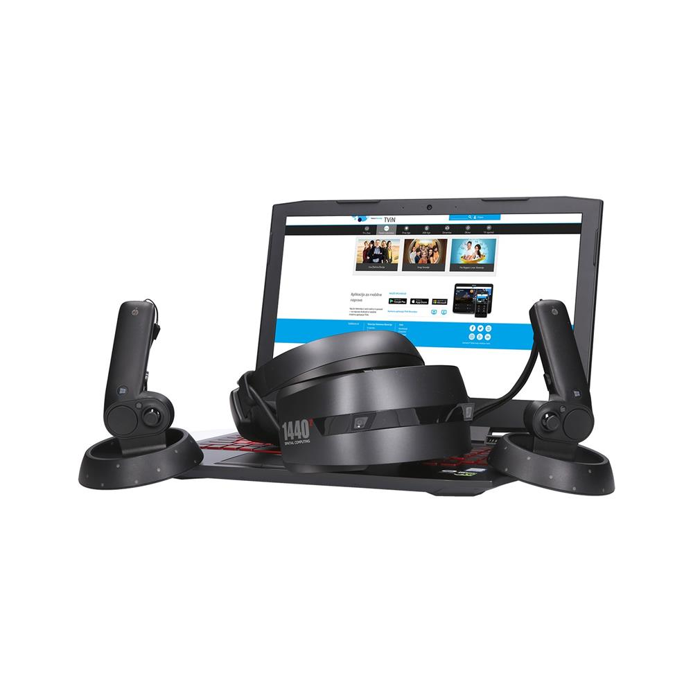 HP Komplet Omen 15-ce013nm in HP Mixed Reality Headset VR1000-100nn očala (2LE05EA in 2MJ36EA)