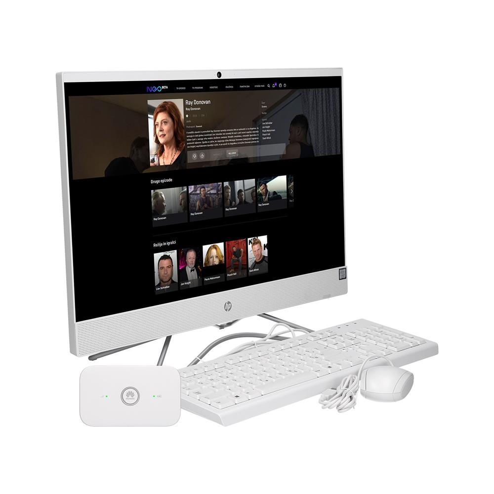 HP AiO 24-f0006ny (5ER86EA) + Huawei E5573Cs