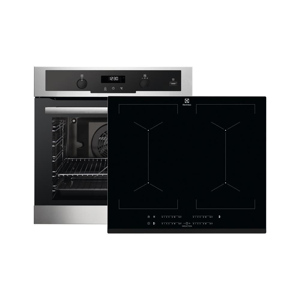 Electrolux Komplet indukcijska kuhalna plošča EIV644 in električna pečica EOC5654TOX