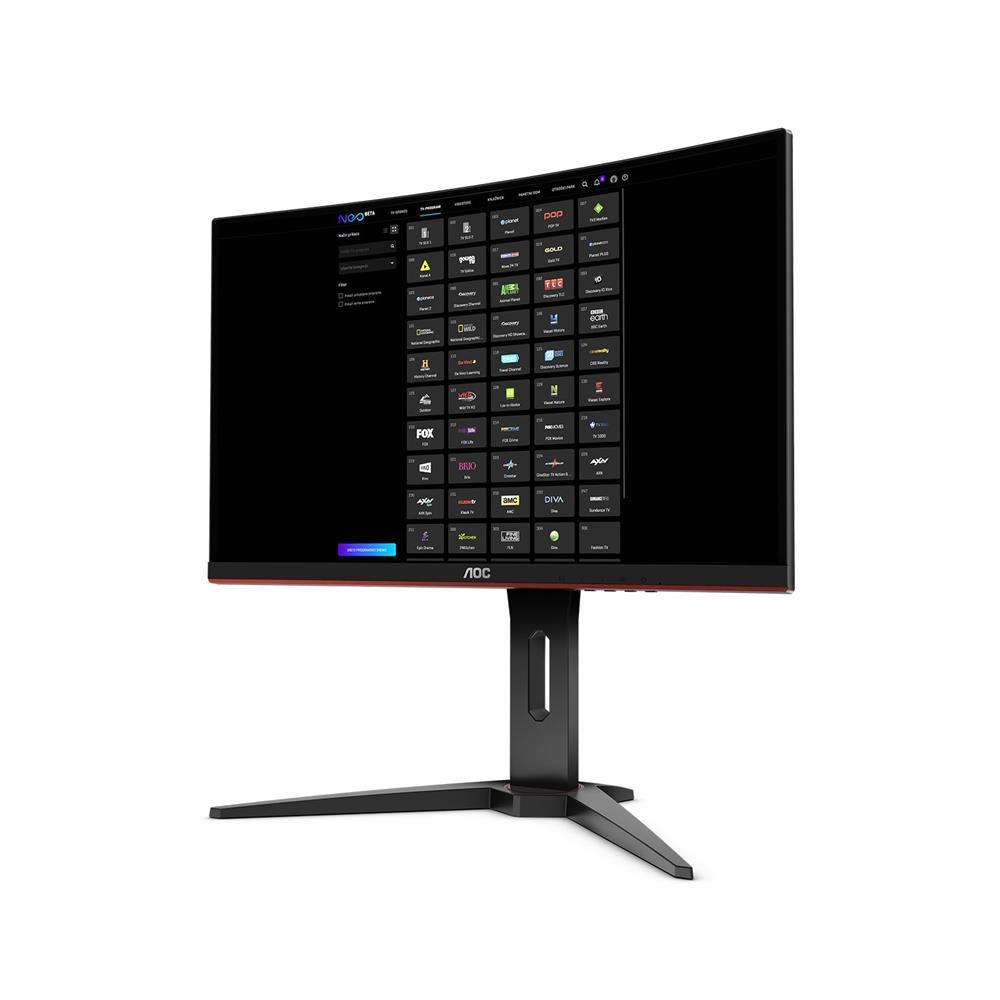 AOC Ukrivljen monitor C27G1