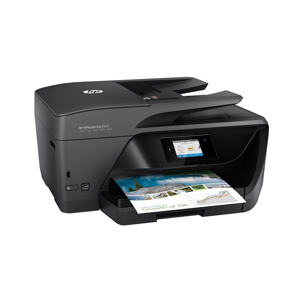 HP Večfunkcijska brizgalna naprava OfficeJet Pro 6970