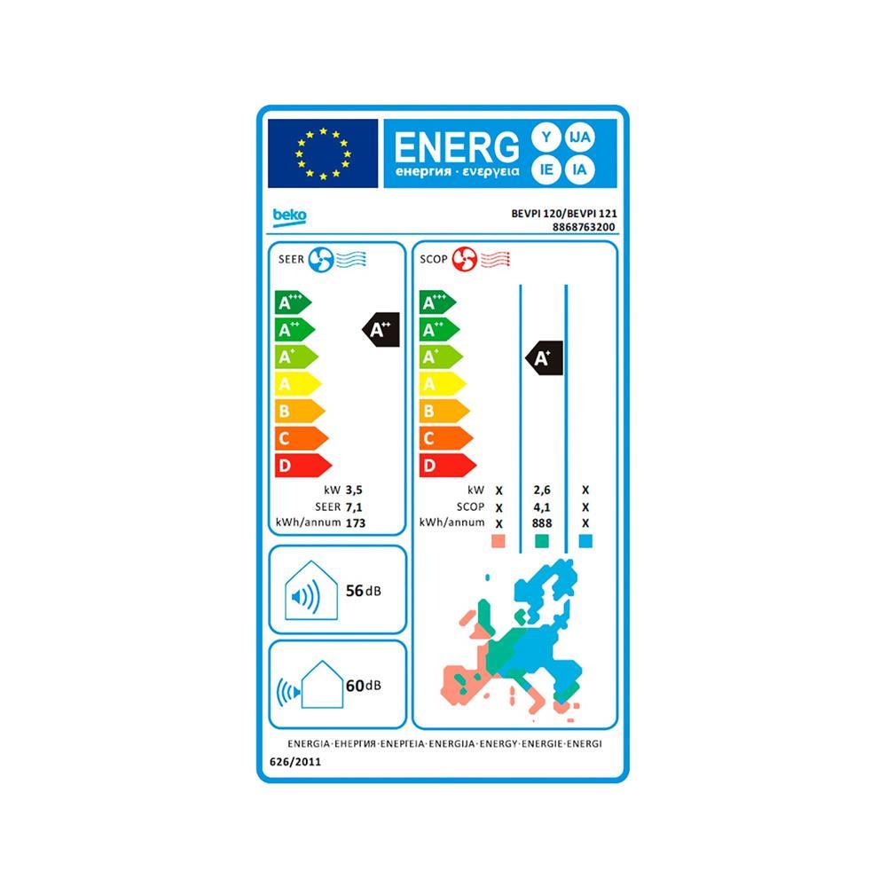 Beko Klimatska naprava BEVPI 120/ BEVPI 121