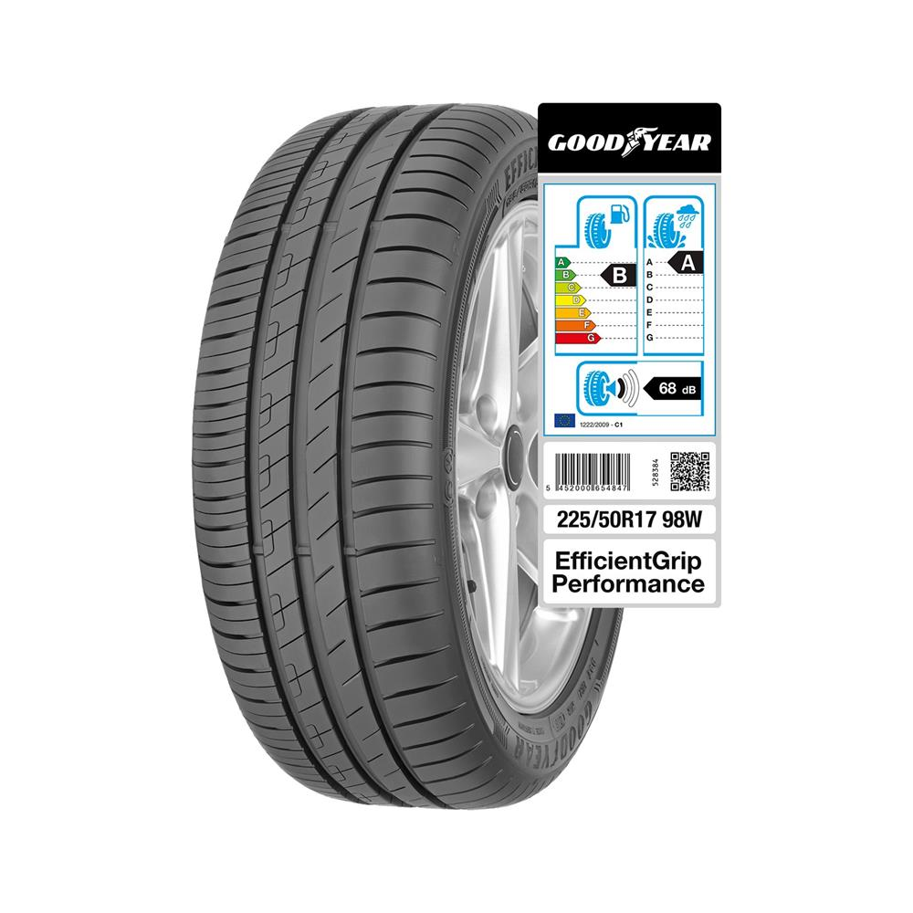 Goodyear 4 letne pnevmatike 225/50R17 98W  EfficientGrip Performance