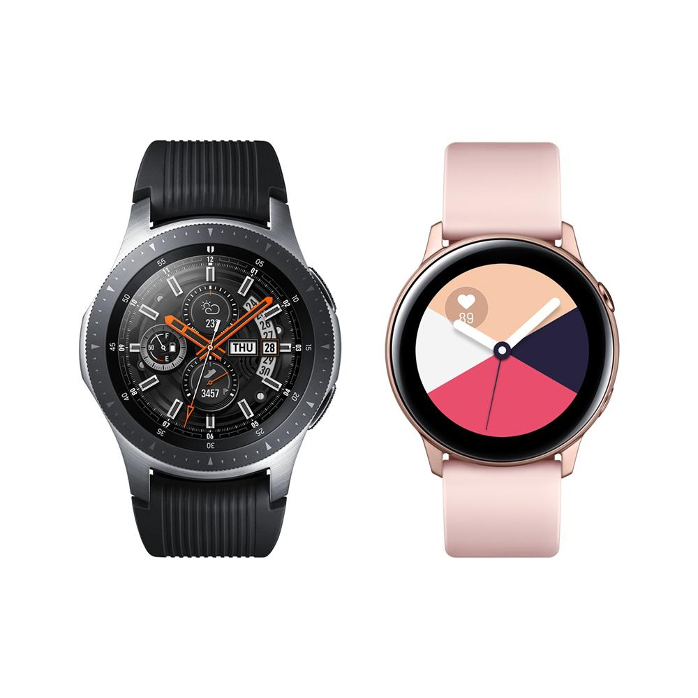 Samsung Komplet pametnih ur Galaxy Watch 46mm (SM-R800) in Galaxy Watch Active (SM-R500)