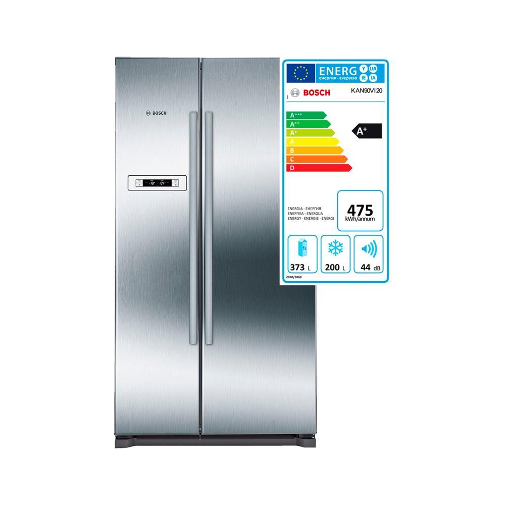 Bosch Hladilnik z zamrzovalnikom Side-by-side NoFrost KAN90VI20