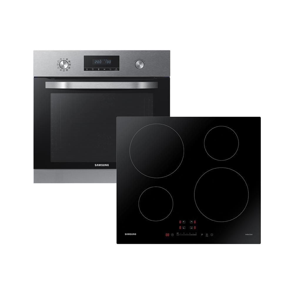 Samsung Komplet indukcijska kuhalna plošča NZ64M3707AK/OL in električna pečica NV70K3370BS/OL