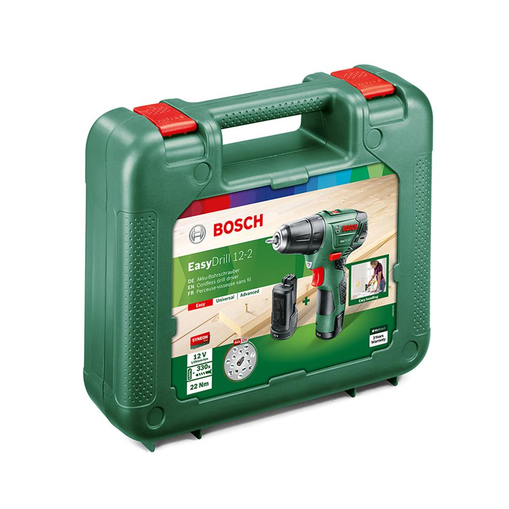 Bosch Akumulatorski vrtalni vijačnik EasyDrill 12-2