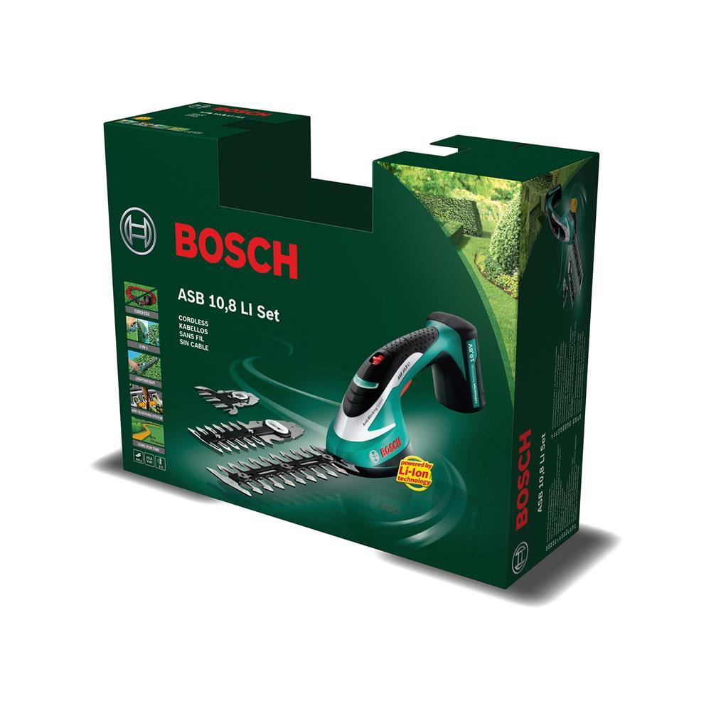 Bosch Akumulatorske škarje za grmičevje in travo ASB 10,8 LI Set