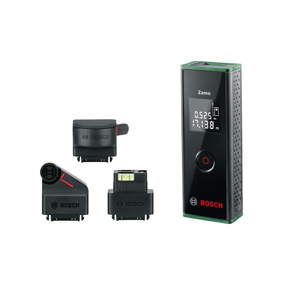 Bosch Laserski merilnik razdalj Zamo III v kompletu z nastavki