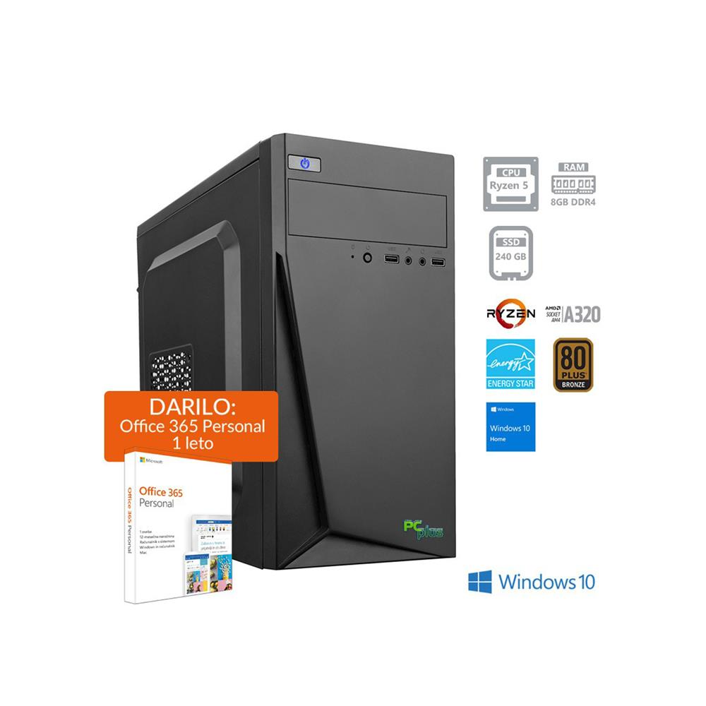 PCplus i-net AMD R5 Windows 10