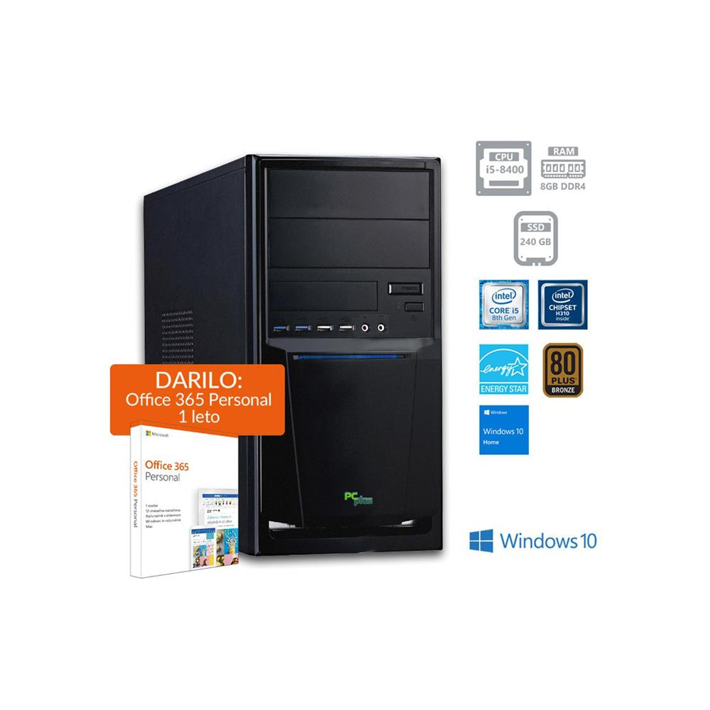 PCplus e-office i5-8400 Windows 10