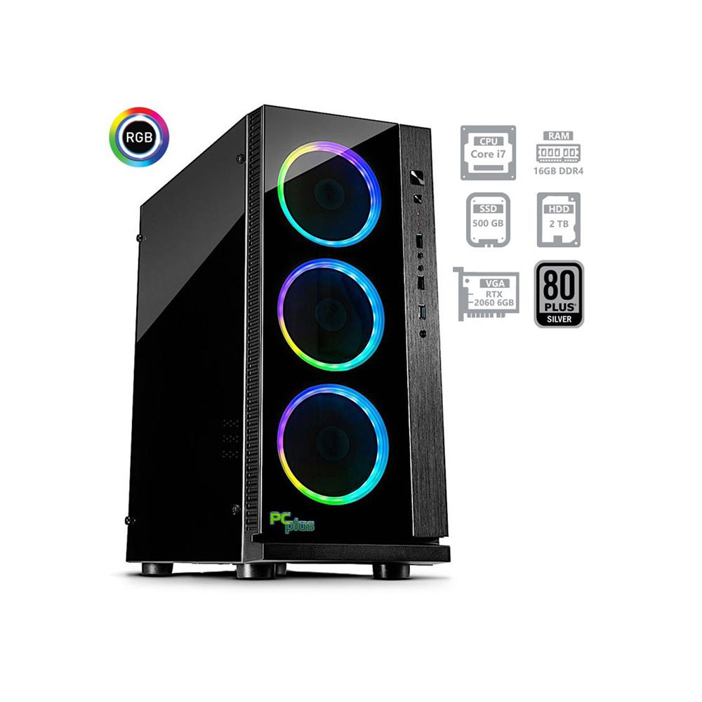PCplus Dream machine i7-8700 RTX2060