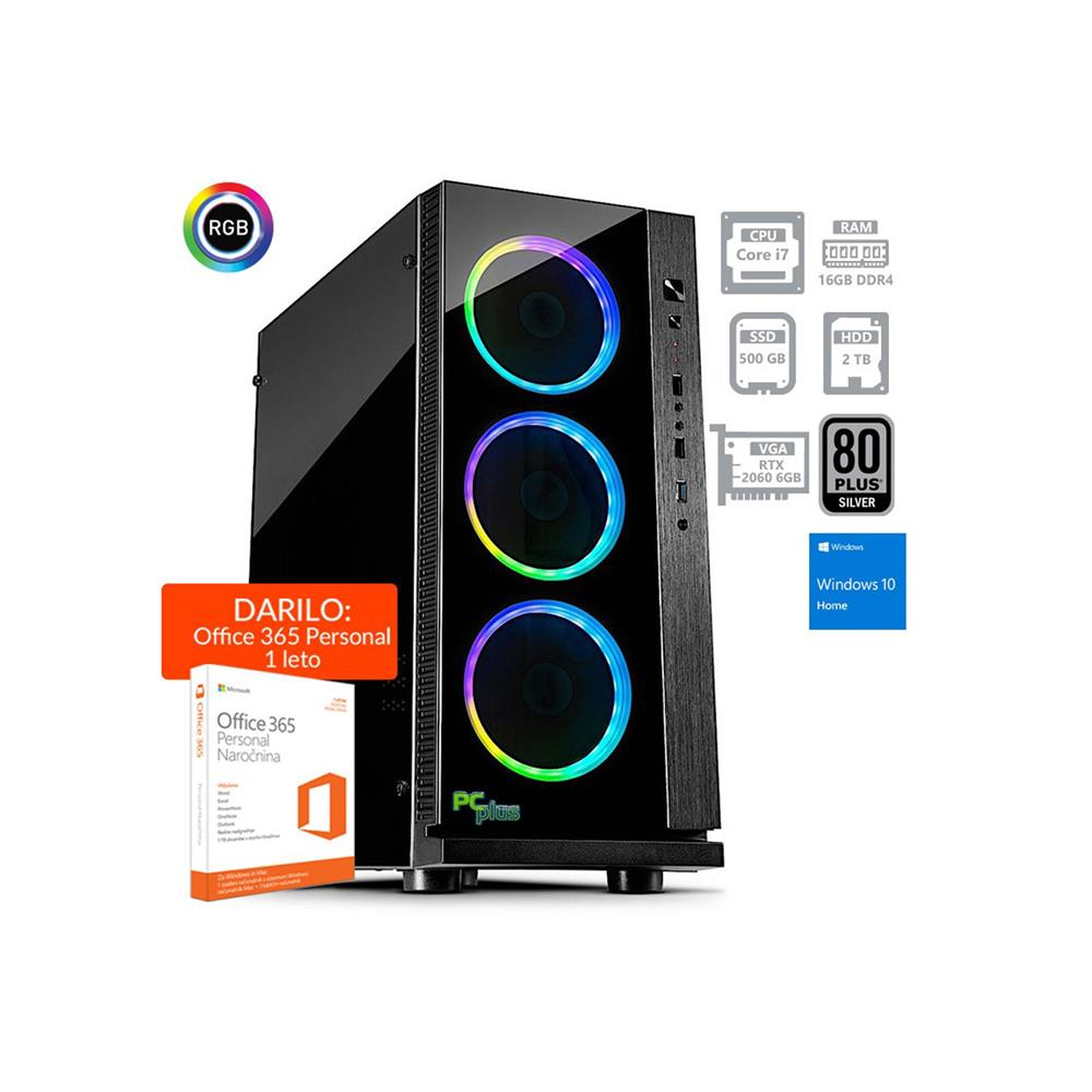 PCplus Dream machine i7-8700 RTX2060 Windows 10
