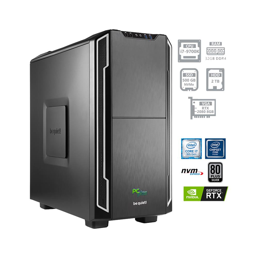 PCplus Dream machine i7-9700K RTX2080