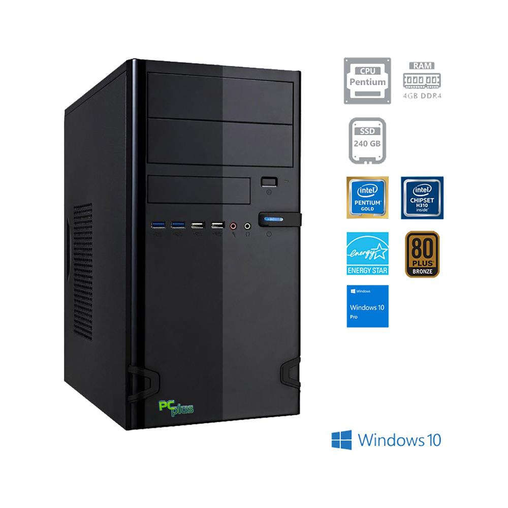 PCplus Family G5400 Windows 10 Pro