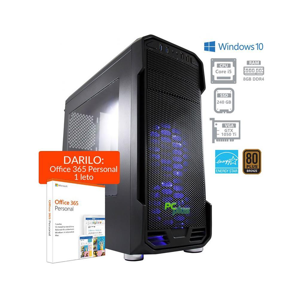 PCplus Storm i5 8400 GTX1050Ti Windows 10