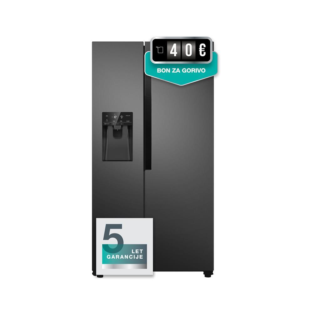 Gorenje Ameriški hladilnik NRS9182VB