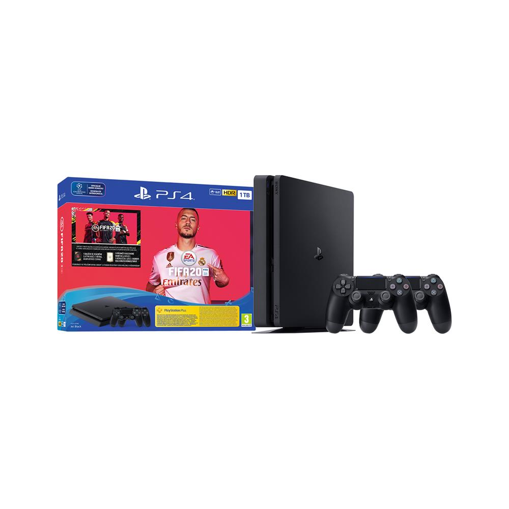 Sony PlayStation® 4, igra FIFA 20 in dodatni Dual Shock kontroler