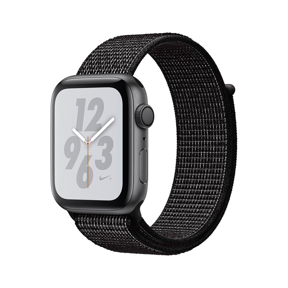 Apple iPhone Xs in pametna ura Watch Nike+ Series 4 GPS 44mm Nike Sport Loop (MU7J2BS/A)