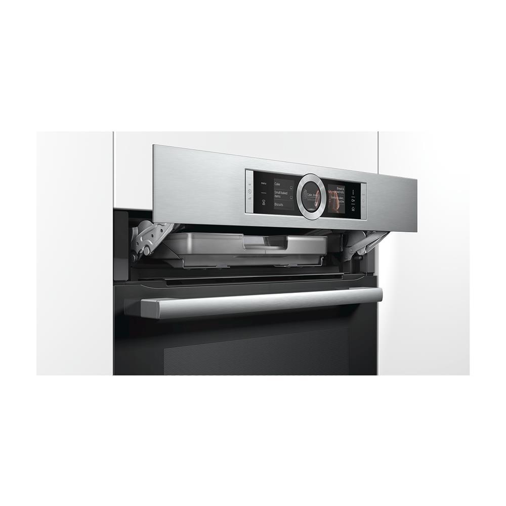 Bosch Vgradna kompaktna pečica s funkcijo pare CSG656BS2