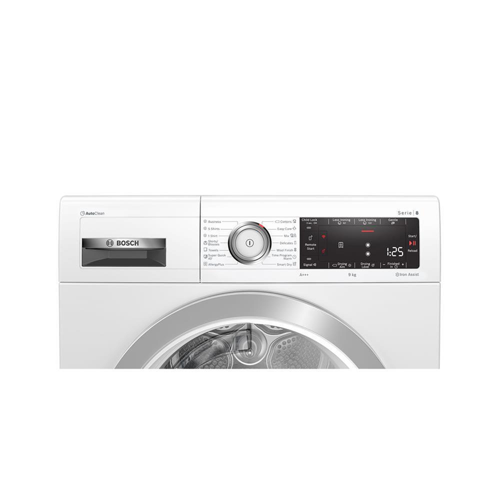 Bosch Sušilni stroj s toplotno črpalko WTX87KH0BY