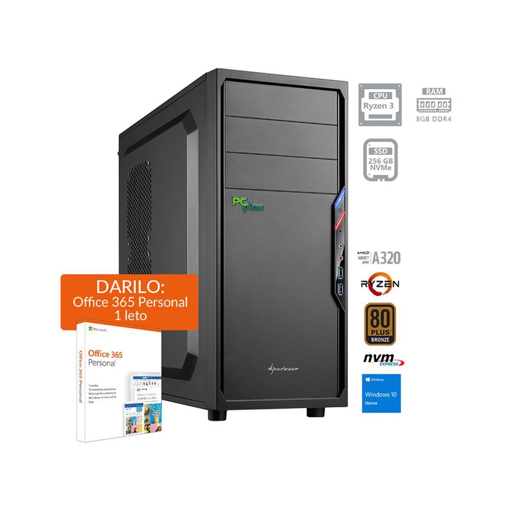 PCplus i-net AMD Ryzen 3 3200G Windows 10