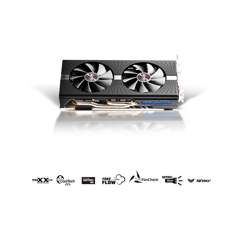 SAPPHIRE Grafična kartica NITRO+ Radeon RX 590 (11289-02-20G)