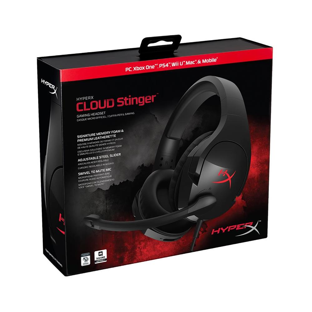 Kingston Gaming slušalke HyperX Cloud Stinger (HX-HSCS-BK/EM)