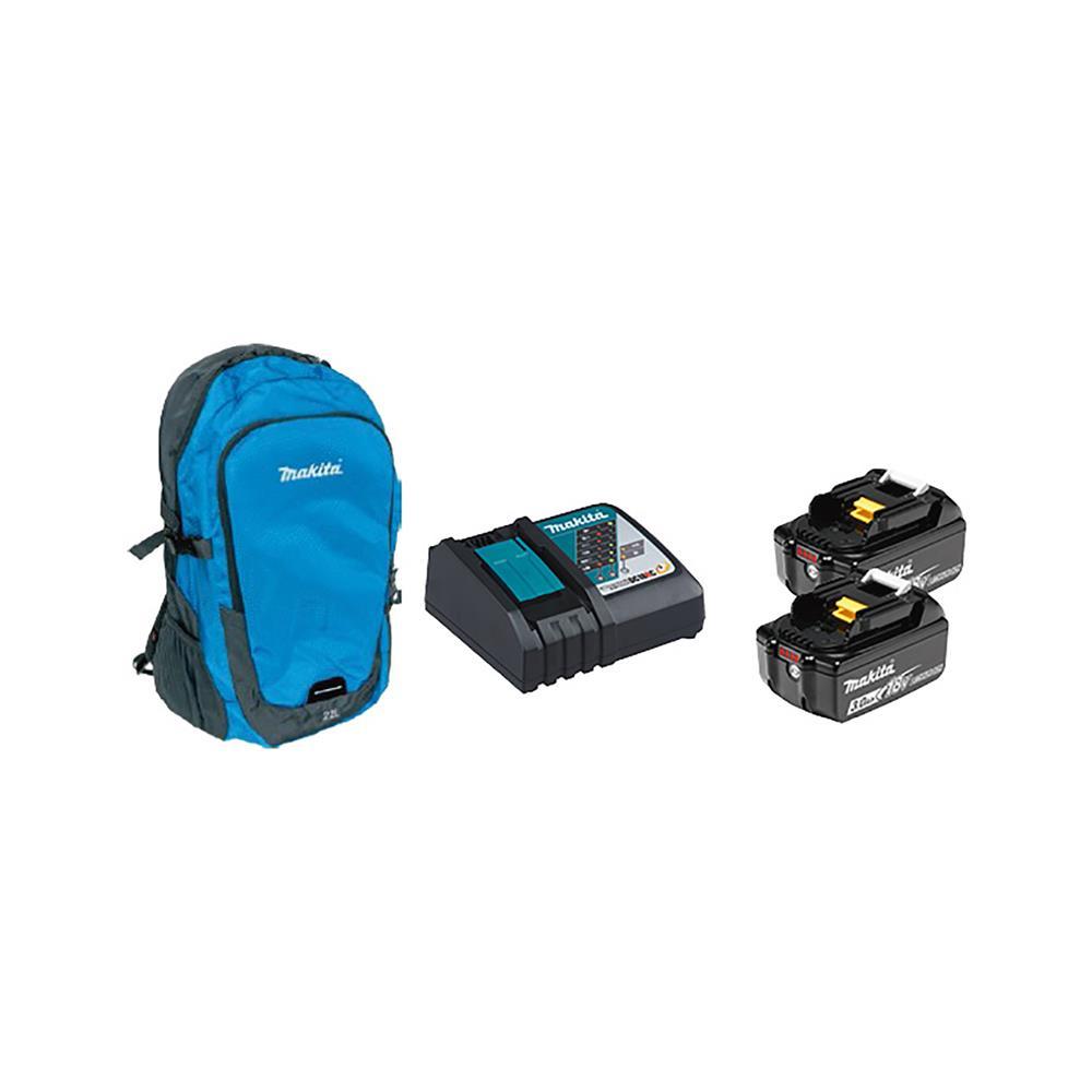 Makita Akumulatorski vibracijski vrtalnik-vijačnik DHP485RF in nahrbtnik