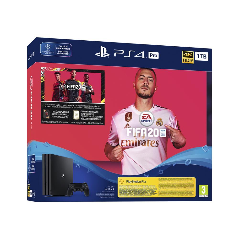 Sony PlayStation ® 4 Pro in igra FIFA 20 Ultimate Team in 14-dnevna naročnina na PlayStation ® Plus
