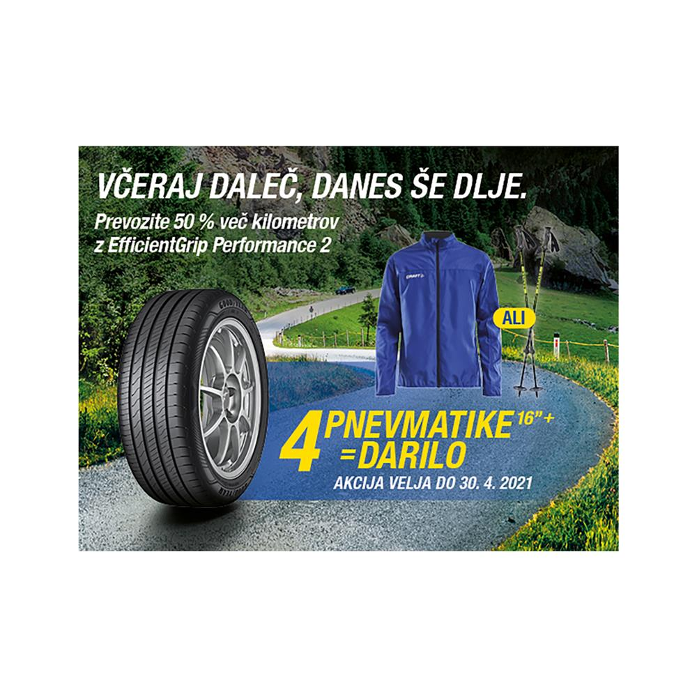 Goodyear 4 letne pnevmatike 215/60R16 99H EfficientGrip Performance XL