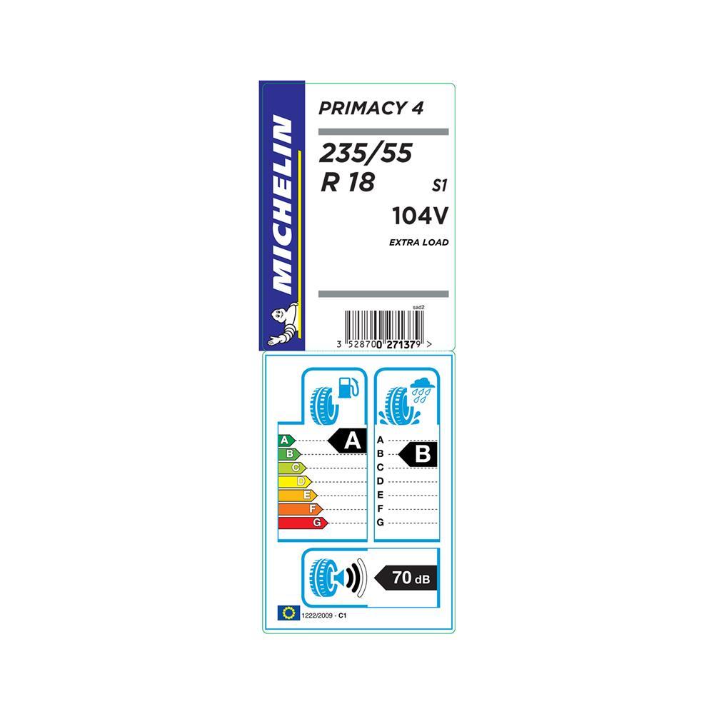 Michelin 4 letne pnevmatike 235/55R18 100V Primacy 3