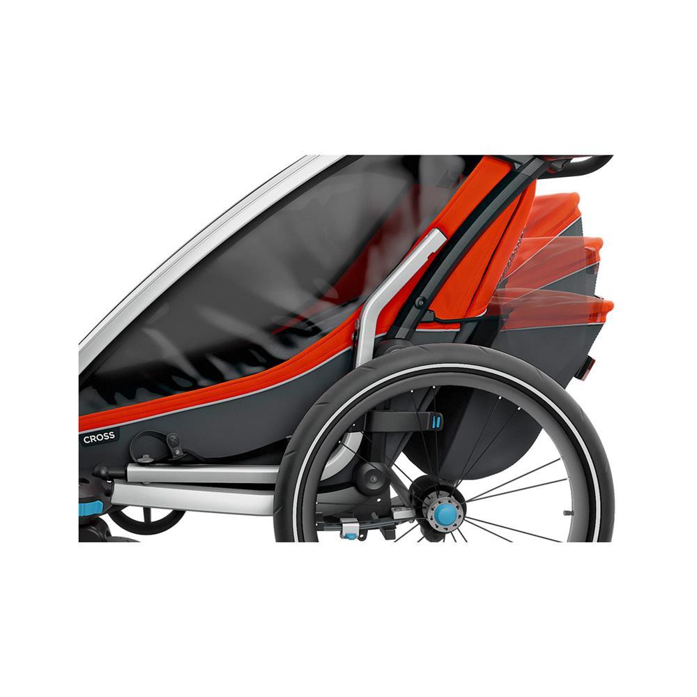 Thule Večnamenski otroški voziček Chariot Cross2 dvosed