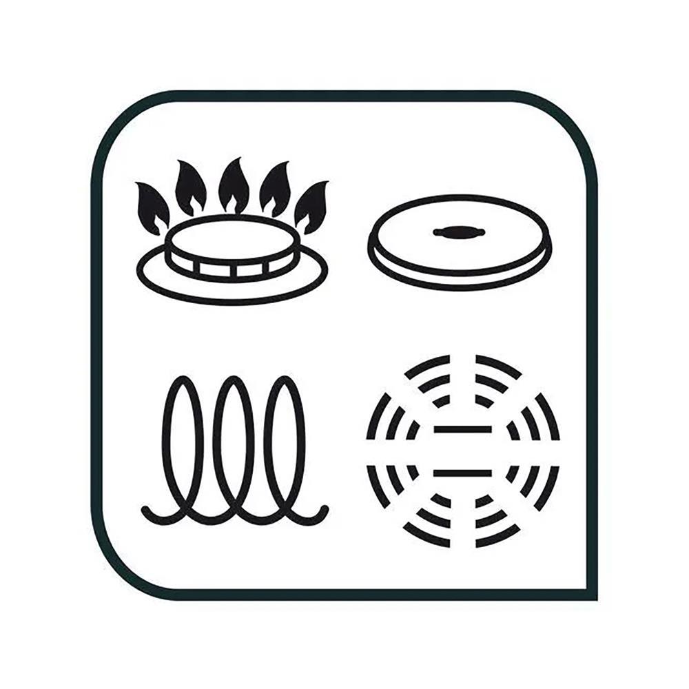Tefal 8-delni set posode Cook&Cool (E493S874)