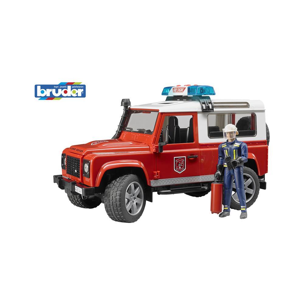 Bruder Gasilsko vozilo Land Rover Defender 02596