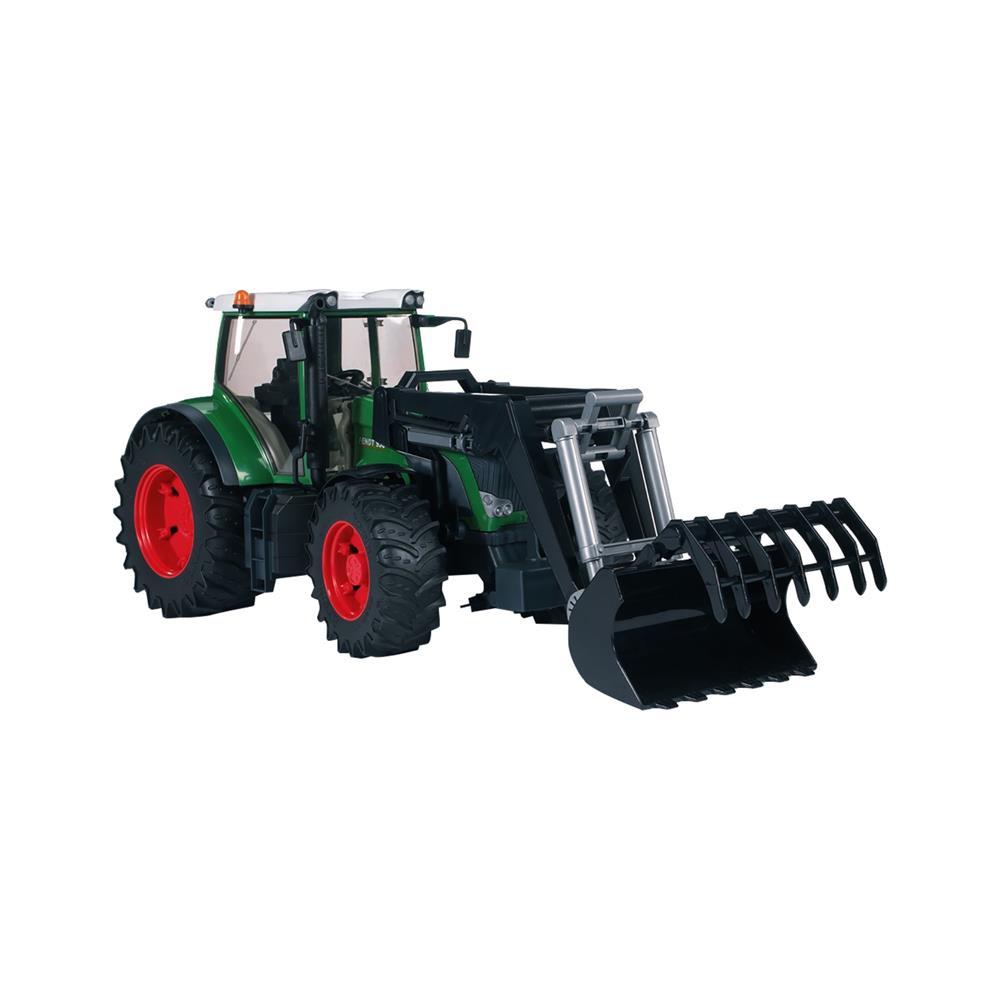 Bruder Traktor Fendt 936 Vario z nakladalko  03041