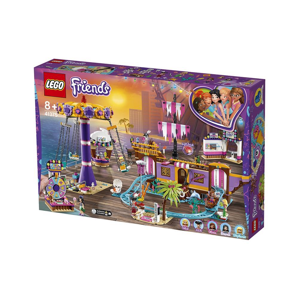 LEGO Friends Zabaviščni pomol v Heartlake Cityju 41375