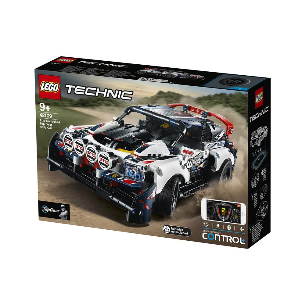 LEGO Technic Avtomobil za reli Top Gear 42109