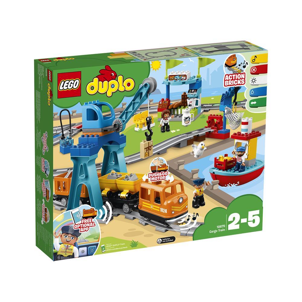 LEGO Duplo Tovorni vlak 10875