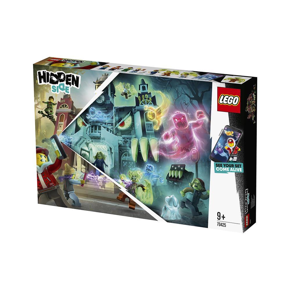 LEGO Hidden Side Newburyjska gimnazija, na kateri straši 70425