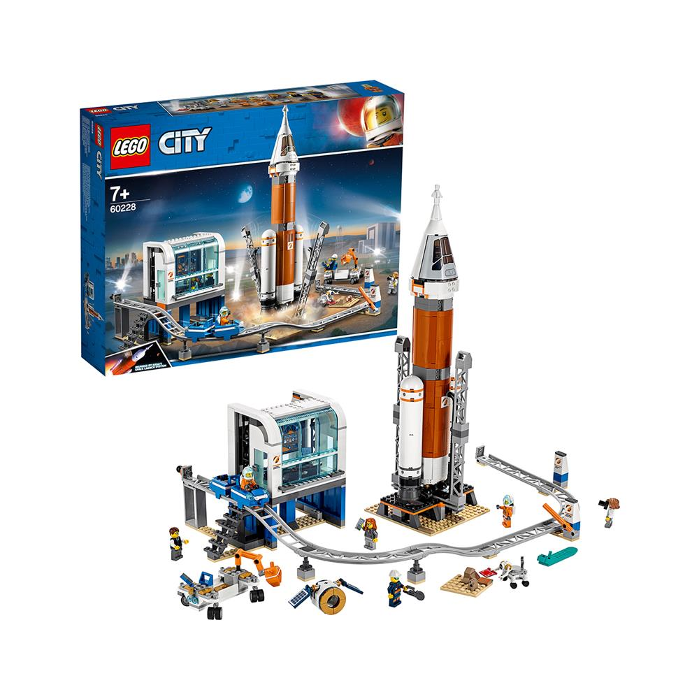 LEGO City Raketa za dolge vesoljske polete in nadzorni center 60228