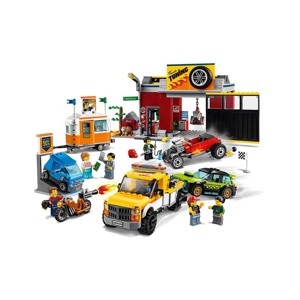 LEGO City Avtomehanična delavnica 60258