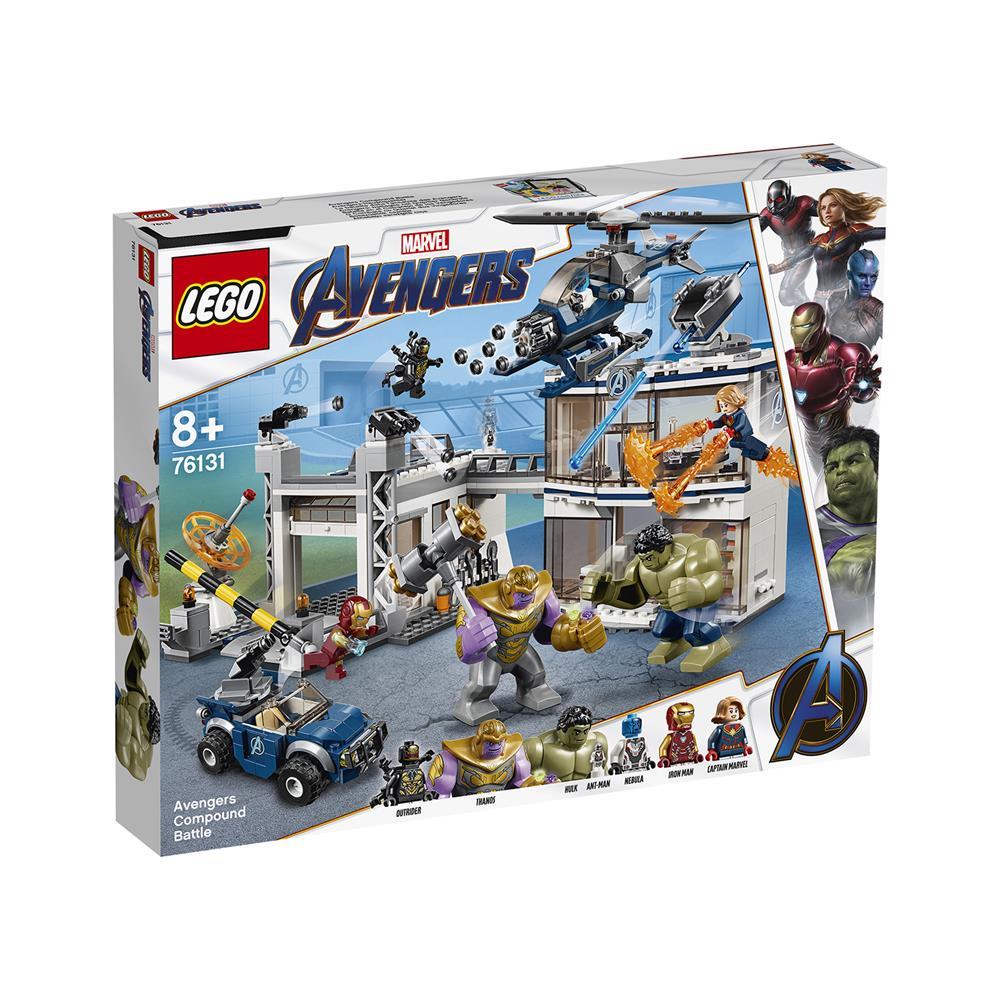 LEGO Super Heroes Bitka v kompleksu Maščevalcev 76131