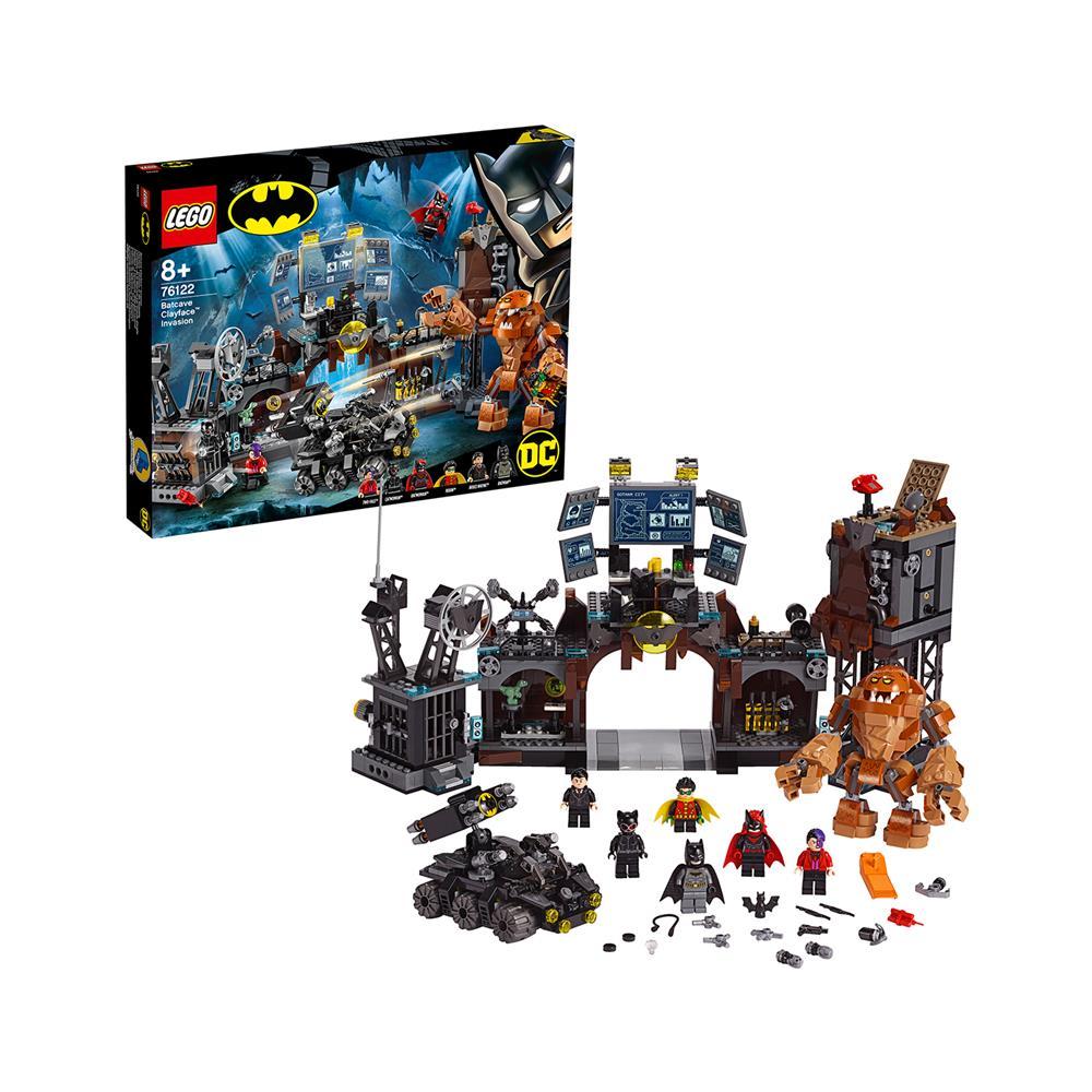 LEGO Super Heroes Clayface™ zasede Batvotlino 76122